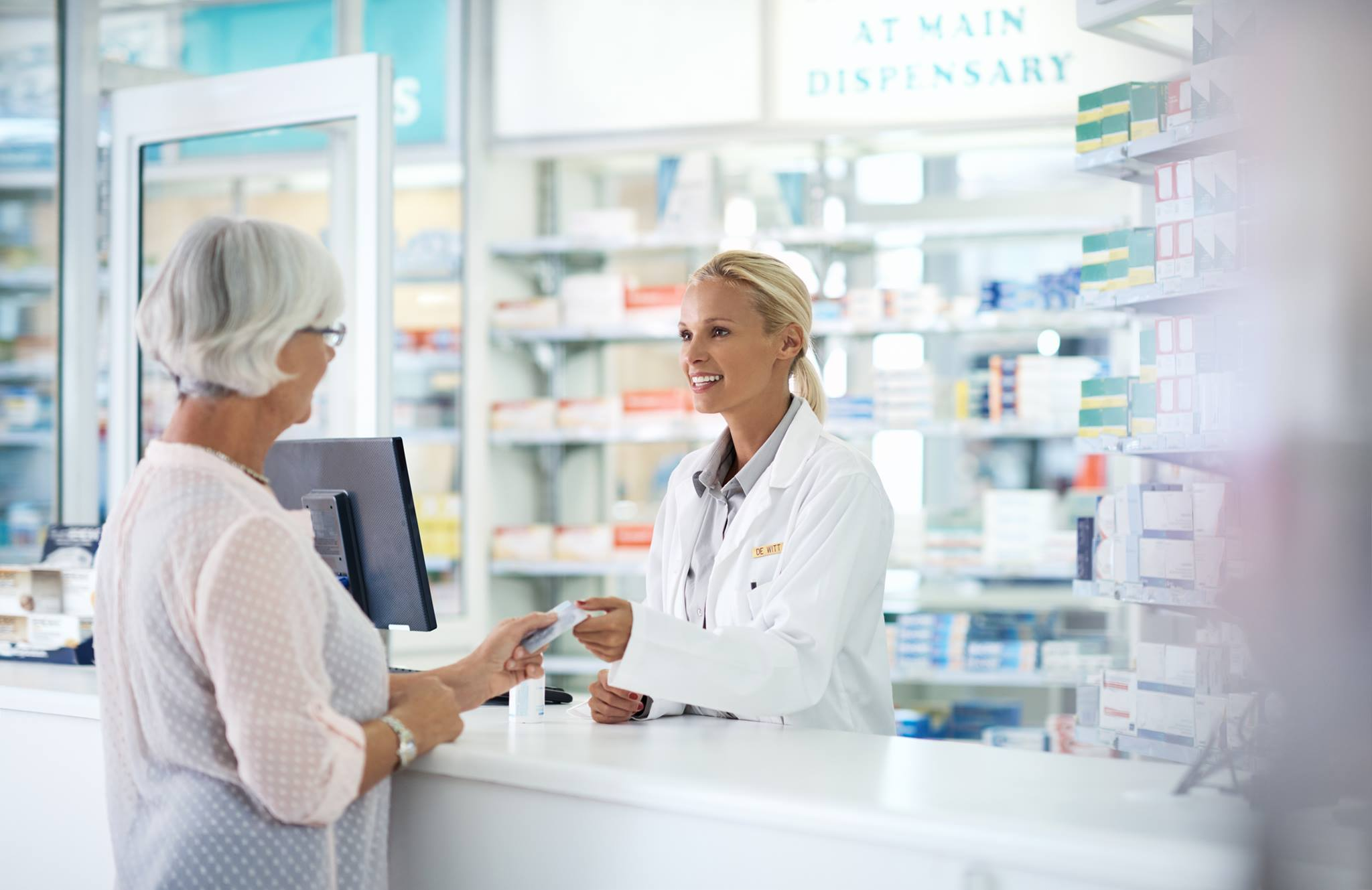 Merchant account for pharmacy